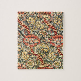 Wandle by William Morris, Vintage Textile Fine Art Jigsaw Puzzle