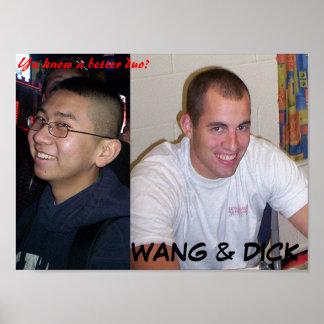 Wang & Dick Poster