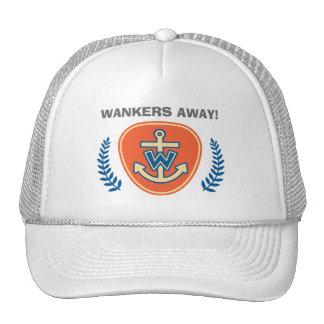 Wankers Away! Cap