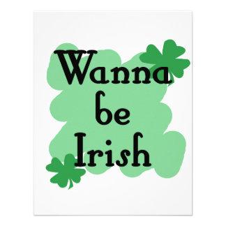 wanna be Irish Announcements