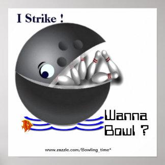 Wanna bowl ? print