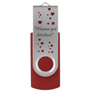 Wanna get hitched? USB Flash Drive by DAL