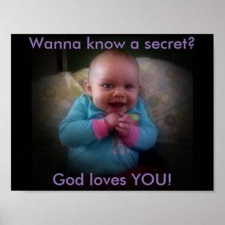 Wanna know a secret? Poster
