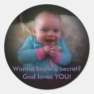 Wanna know a secret? sticker