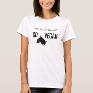 Wanna level up? - T-shirt - light colors
