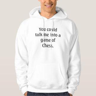 Wanna play Chess? Hoodie Chess Nerd Fashion