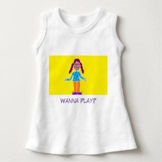 'Wanna Play?' Dress