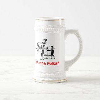 Wanna Polka? Oktoberfest T-shirt Coffee Mug