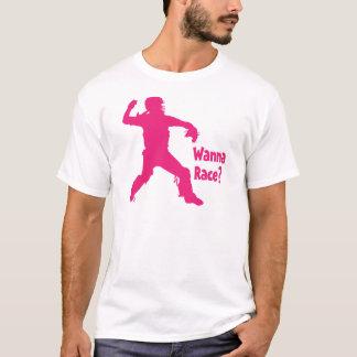 Wanna Race, melon T-Shirt