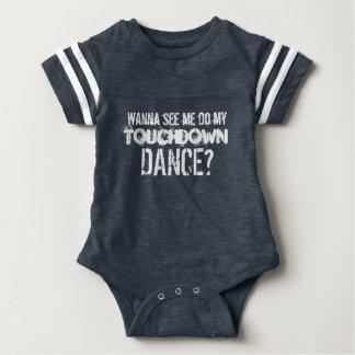 Wanna See Me Do My Touchdown Dance?-T Baby Bodysuit