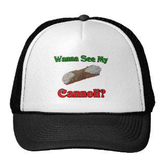 Wanna See My Cannoli Cap