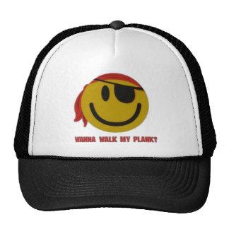 Wanna Walk My Plank Trucker Hats