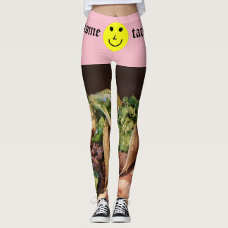 Want some tacos, baby? leggings