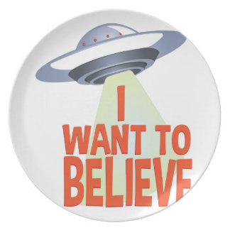 Want To Believe Plate