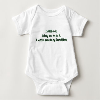 Want to Speak to Grandfather Baby Bodysuit