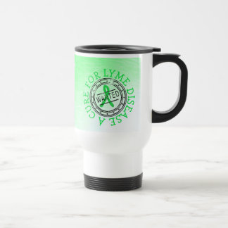 Wanted: A Cure for Lyme Disease Coffee Cup