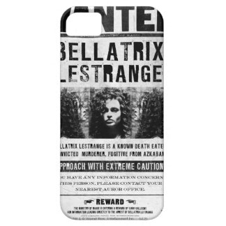 Wanted Bellatriz Lestrange iPhone 5 Case
