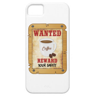 Wanted Coffee iPhone 5 Case