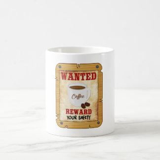 Wanted Coffee Mug