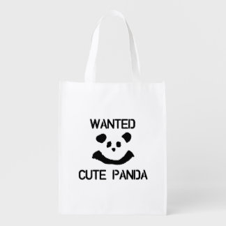 Wanted Cute Panda Reusable Grocery Bag
