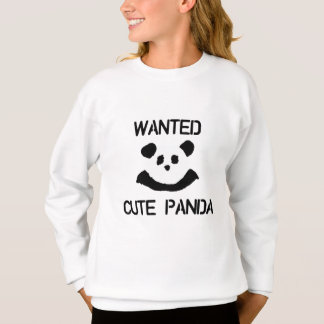WANTED Cute Panda Sweatshirt
