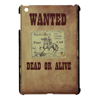 Wanted Dead or Alive iPad Mini Cases