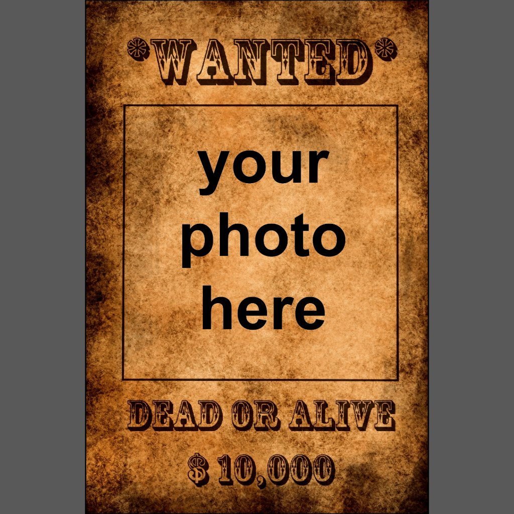 Wanted poster border clipart - china-cps