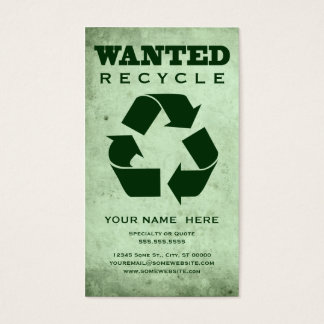 wanted : green corp