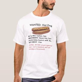 WANTED:  Hot Dog T-Shirt