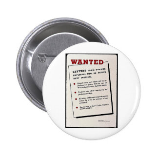 Wanted Letters From Former Employees Now On Activ Pinback Button
