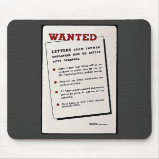 Wanted Letters From Former Employees Now On Activ Mousepad