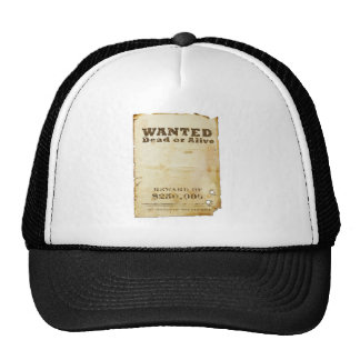 Wanted Poster Cap