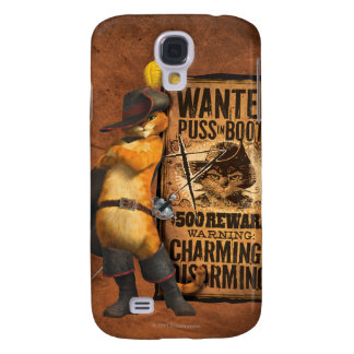 Wanted Puss in Boots (char) Samsung Galaxy S4 Covers