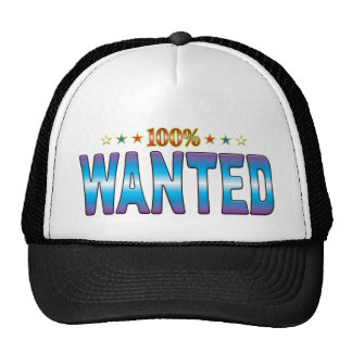 Wanted Star Tag v2 Trucker Hats