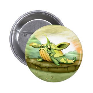 WAOU ALIEN MONSTER  CARTOON Standard, 2¼ Inch 6 Cm Round Badge