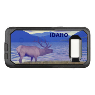 Wapiti (Elk) By The Lake OtterBox Commuter Samsung Galaxy S8 Case