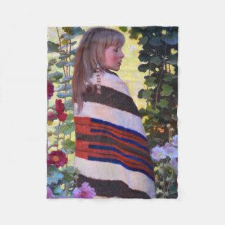 Wapiya Winyan Fleece Blanket