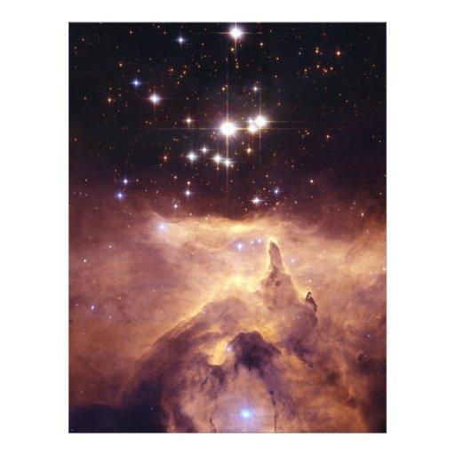 War and Peace Nebula Personalized Flyer