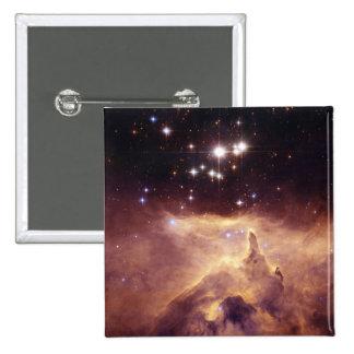 War and Peace Nebula Pinback Button