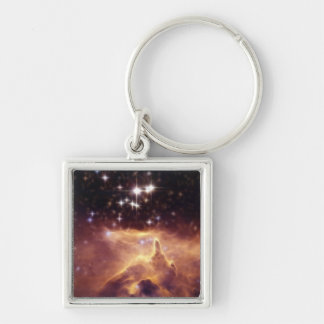 War and Peace Nebula Pismis 24 Key Ring