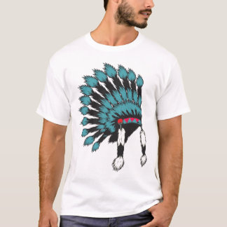 war bonnet - smokey mtns. Cherokee T-Shirt