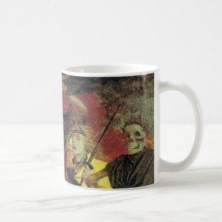 War by Arnold Bocklin, Vintage Symbolism Fine Art Coffee Mug