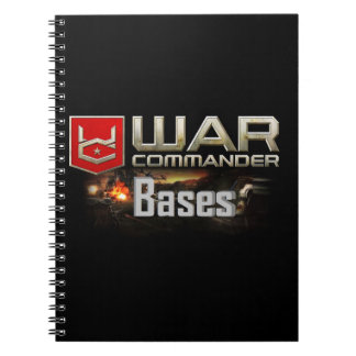 War Commander Bases Notebook