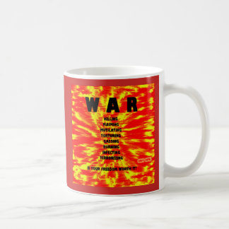 WAR concept art by Gary Revel Coffee Mug