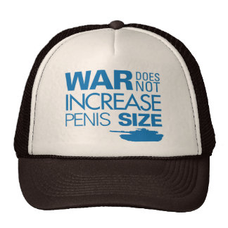 War Does Not Hats