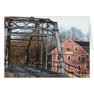 War Eagle Mill & Bridge Card