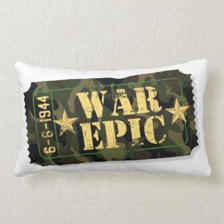 War Epic Movie Ticket Pillow — Lumbar