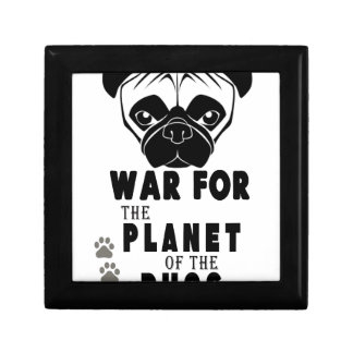 war for planet of pugs cool dog gift box
