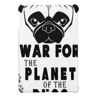 war for planet of pugs cool dog iPad mini case