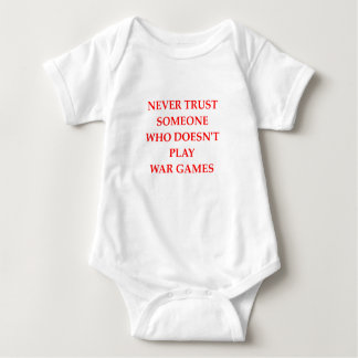 war games baby bodysuit